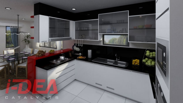 Modular kitchen cabinets kitchen design philippines i dea catalysts Condo kitchen design philippines