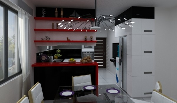 Alum Modular Kitchen
