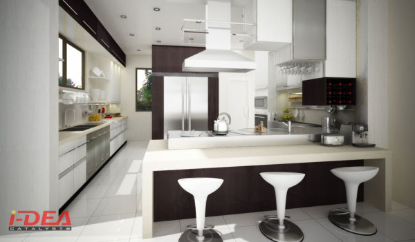 C Modular Kitchen