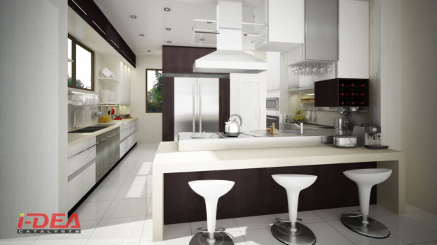 Damar Modular Kitchen; C Modular Kitchen