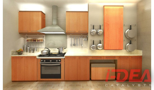 Easton Place Modular Kitchen 2