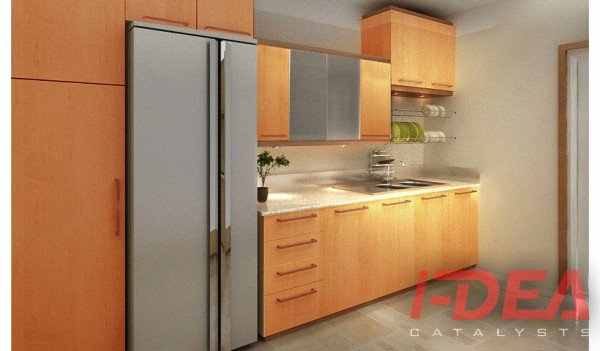 Easton Place Modular Kitchen