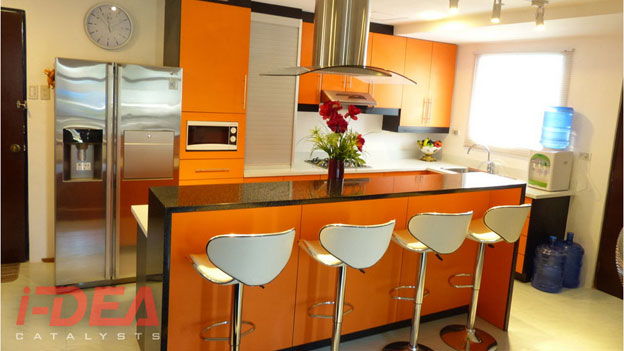 Regency Modular Kitchen; Lorraine Modular Kitchen