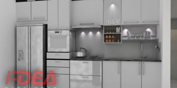 what are modular kitchen cabinets made of