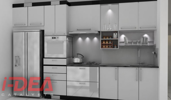 Renaissance Tower Modular Kitchen