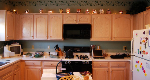 Christmas Decoration Ideas For Kitchen Cabinets